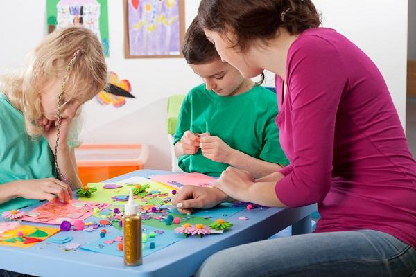 Creative games in kindergarden